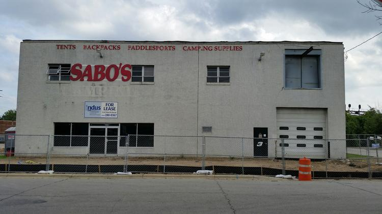 Brenz Pizza Co. and Zoup Fresh Soup Co. are moving into the first floor of the former Sabo's Camping store by Lennox Town Center.
