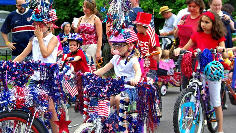 Fourth of July will be celebrated all throughout the Philadelphia region (Well, and America), including Bucks County's Font Hill Castle.