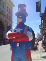 Uncle Sam statues draw curious to downtown Troy slideshow (Video)