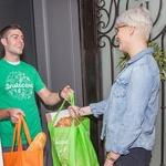 With blizzard bearing down, customers crowd Instacart