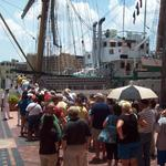 Colombian naval ship returns to Tampa, attracts hundreds