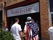 Wolff's Biergarten in Albany, New York has become a popular place for soccer fans to watch matches, especially during the World Cup.
