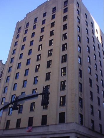 A construction permit has been issued to begin interior demolition for a new hotel at the Noel Place building, located at 200 Fourth Ave. N.