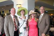 Representing American Founders Bank on Millionaires Row were, from left, Gary Davis, Julie Bleich, Debra Kempf and Bryan Boyd.