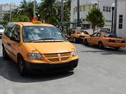 Just 2,121 taxis are allowed to operate in Miami-Dade County.