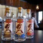Central Standard Craft Distillery products heading for the Fox Valley