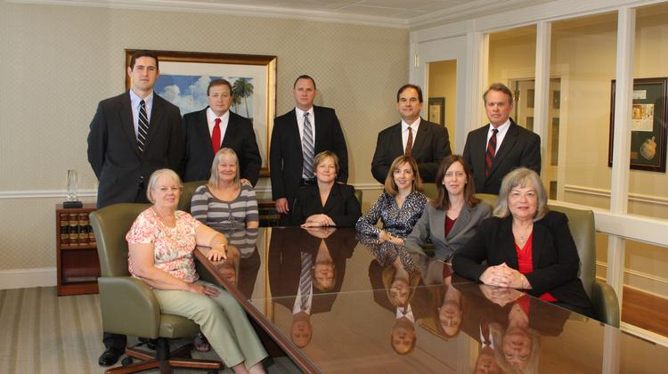 Constangy Jacksonville: Seated left to right: