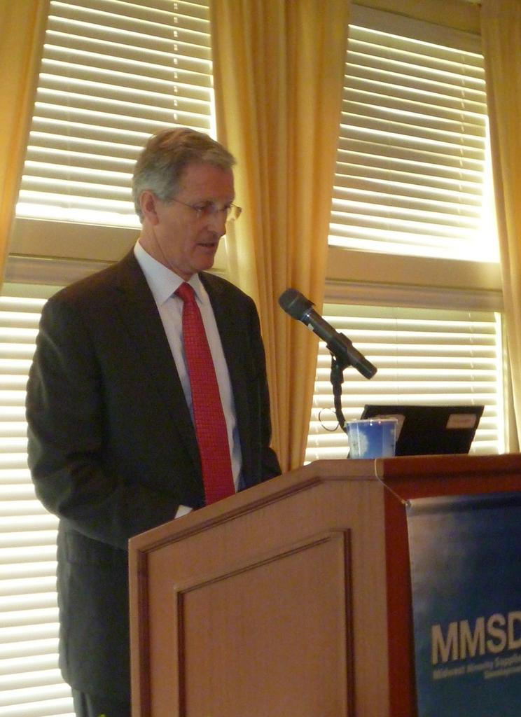 Greg Page, CEO of Cargill.