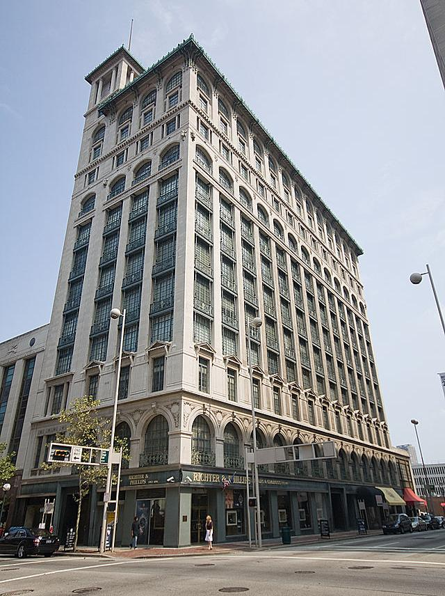 The Gwynne Building, a three-structure, class B office/retail property and the former home of Procter & Gamble Co., is up for sale.