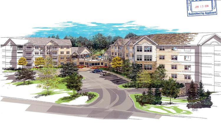 The proposed Applewood Pointe of Minnetonka senior cooperative design has changed significantly from a four-story complex with more than 100 units to two wings with a total of 87 units.