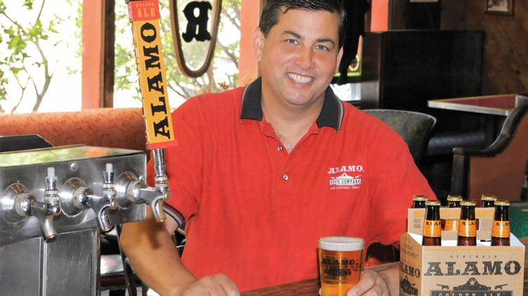 Alamo Beer founder Eugene Simor expects that his new brewery will spur additional East Side development.