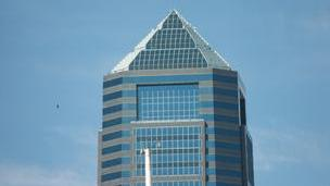 The tallest tower in Jacksonville went on the market in February.