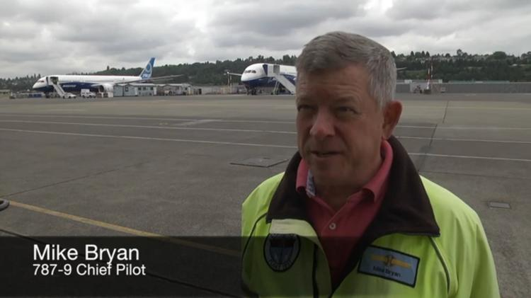 Mike Bryan, 787-9 test pilot, talks about the extreme testing of the plane being conducted at Boeing's Moses Lake facility and at Edwards Air Force Base.