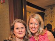 GiveCorps founder Jamie McDonald; Holly Hoey, vice president of major gifts and planned giving, United Way of Central Maryland.