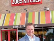 Kevin Miles, Zoe's Kitchen CEO. Hometown: Weslaco Total employees he leads: 2,918 Hobbies: spending time with his wife and two children, playing golf, hunting Education: Bachelor of Science at Texas A&M Favorite dish: marinated grilled chicken marinated with grilled asparagus, a salad and a glass of wine Random fact: Miles can butcher a whole side of beef