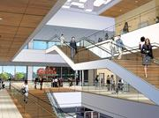 A rendering of the interior of Allegheny Health Network's Wexford Health and Wellness Pavilion, scheduled to open in October.