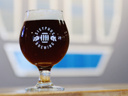 A glass of Sisyphus' Kentucky Common, a beer made with whiskey ingredients. Kentucky Common will be on tap at the microbrewery's July 11 debut.