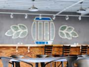 A shot of Sisyphus' Brewing Co.'s taproom near downtown Minneapolis. The taproom is in the Dominium Building just north of the Minneapolis Sculpture Garden.