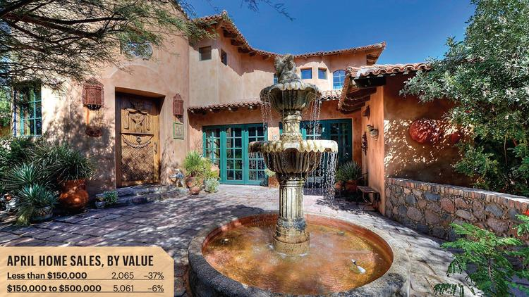 The home of Arizona Diamondbacks General Manager Kevin Towers is one of thousands on the market in the Valley.