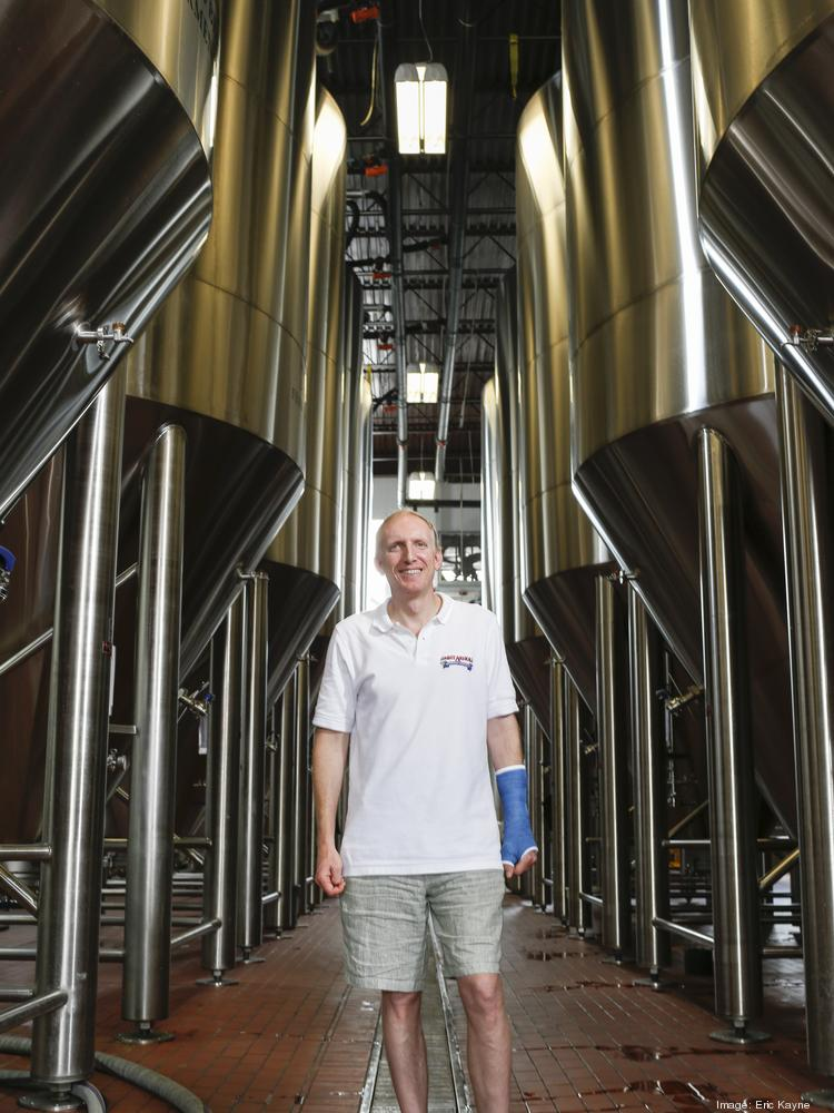 Brock Wagner, founder and CEO of St. Arnold's Brewery.