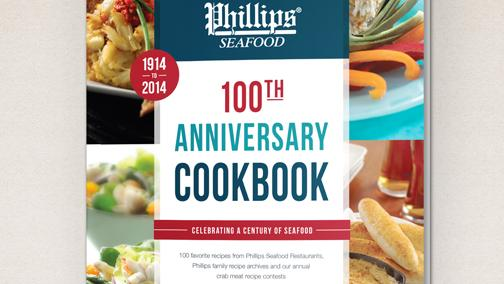 Proceeds from the sale of the Phillips Seafood 100th Anniversary Cookbook will go toward the Maryland Watermen's Association.