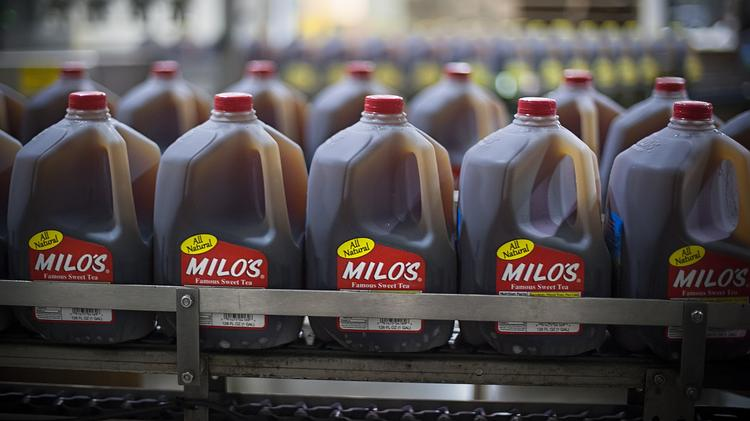 Milo's Tea is now present in over 38 states.