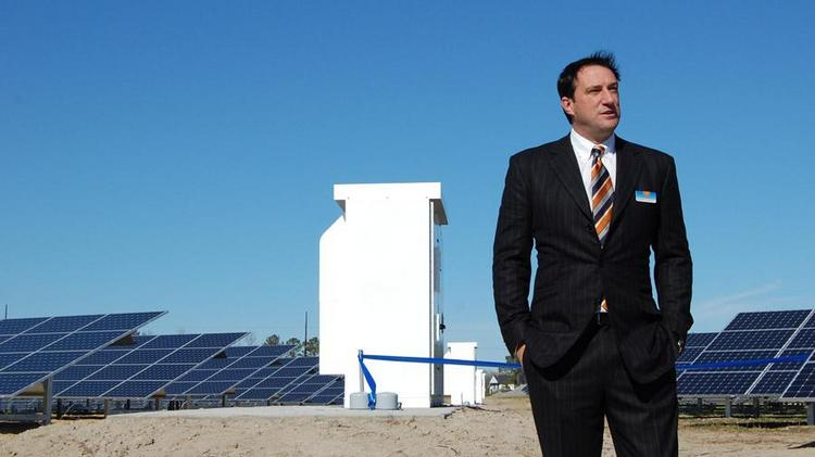 SunEnergy1 CEO Kenny Habul says the three solar farms will each have different owners, which justifies treating them as separate projects.