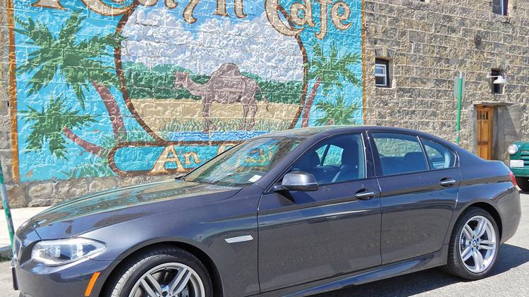It costs less on average to operate a car in Washington state — including this BMW, pictured in Roslyn — than the national average.