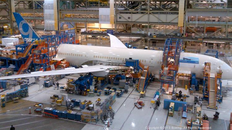 Boeing workers cut costs of 787-9 production by 50 percent, over the first seven off the line.