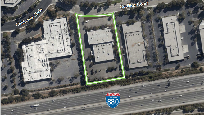 This property in Milpitas just sold to a hotel developer.