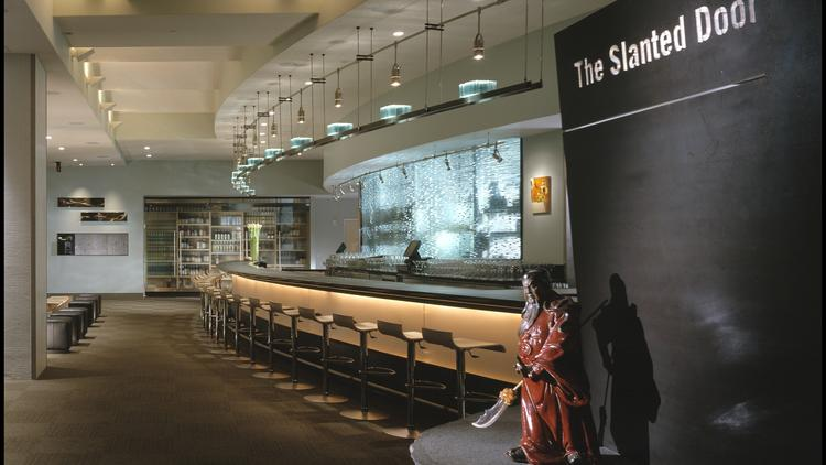 A seminal project for Lundberg Design, said Olle Lundberg, was Charles Phan's James Beard Award winning restaurant, Slanted Door in the Ferry Building. Photo by Cesar Rubio/Courtesy of Lundberg Design.