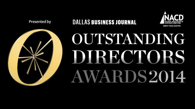 The Dallas Business Journal is seeking nominations for its 2014 Outstanding Directors Awards program, presented with the National Association of Corporate Directors