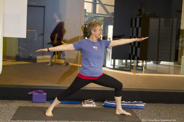 Mary Coleman had a life-changing experience doing yoga and decided, with her paralegal career over, to open a studio downtown.