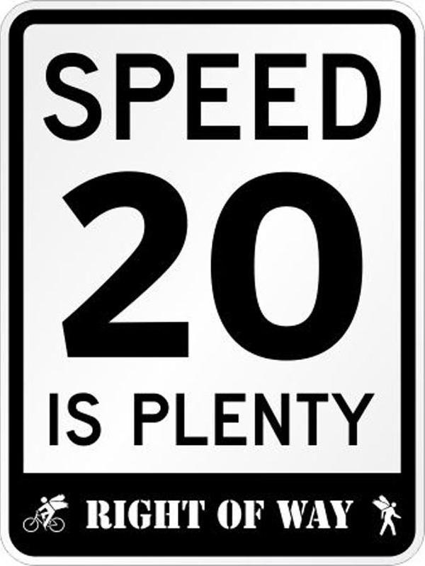 These signs, promoting slower speed limits in neighborhoods, are starting to go up around Memphis.