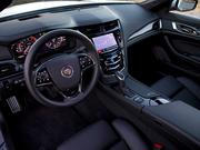 The interior of the 2014 Cadillac CTS Vsport.