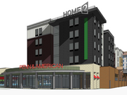 Red Robin would have 172 seats but no outdoor patio. Construction is slated to start later this year on the complex, which also will include a 108-room Home2Suites by Hilton extended stay hotel.