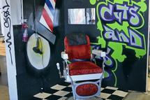 Sol Republic Headquarters Cool Spaces 2014 barber chair