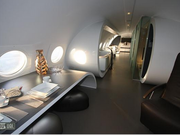 A hotel suite in the Netherlands was made from a converted Ilyushin (that's Russian) aircraft.