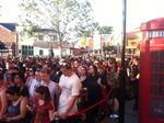 Crowds pack Universal's Diagon Alley opening