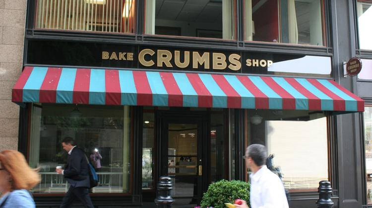 Crumbs has closed its Federal Street shop and two others in Boston.