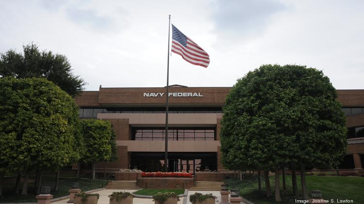 Vienna, Va.-based Navy Federal Credit Union has about 5 percent of nationwide credit union members and 5 percent of total assets.