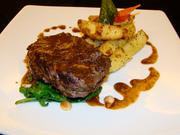 The Blackstone Filet is the top selling dish in Egypt. The meal is composed of an angus tenderloin topped with a chocolate-pepper sauce.