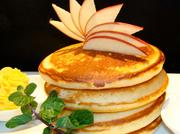 About 80 percent of Blackstone Bistro's menu will be items from the Egyptian locations, like the orange zest pancakes.