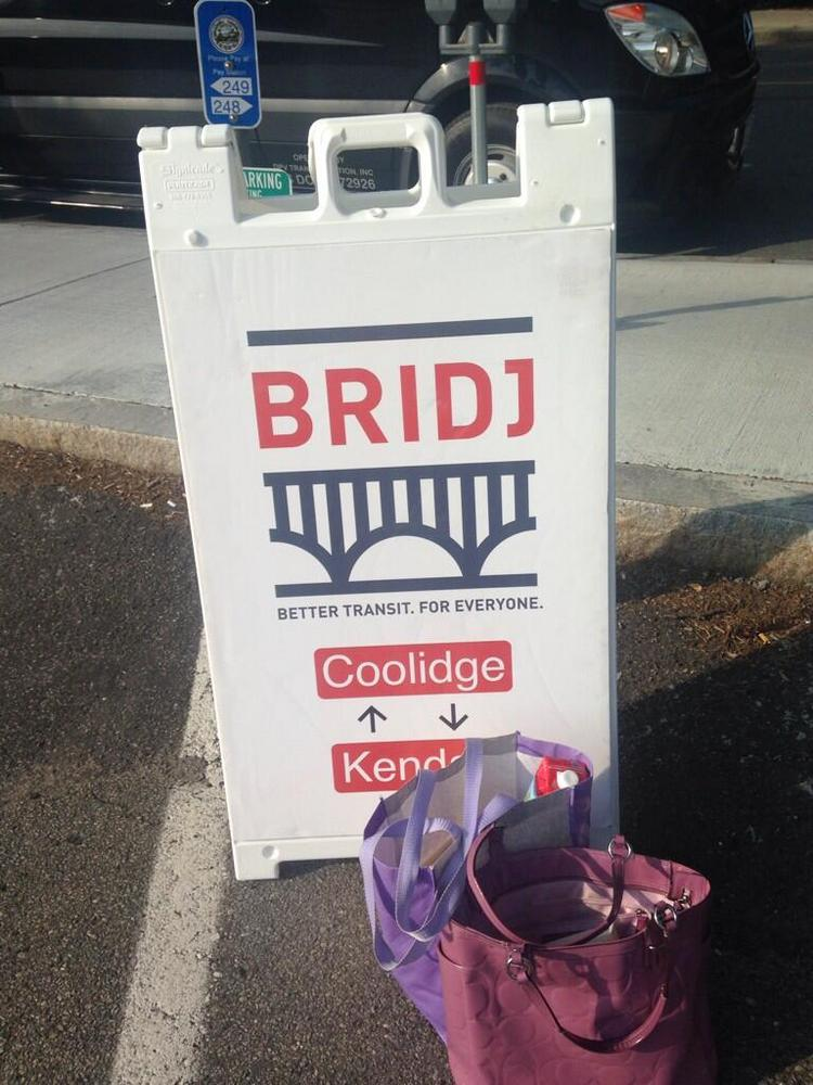 The city of Cambridge will hold a hearing on transit startup Bridj next month.