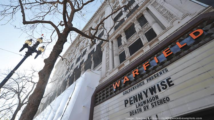 The venerable Warfield Theater is getting a new neighbor -- a coffee shop.