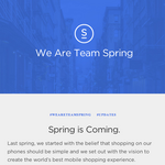 Buzz builds around Spring, a mysterious e-commerce play
