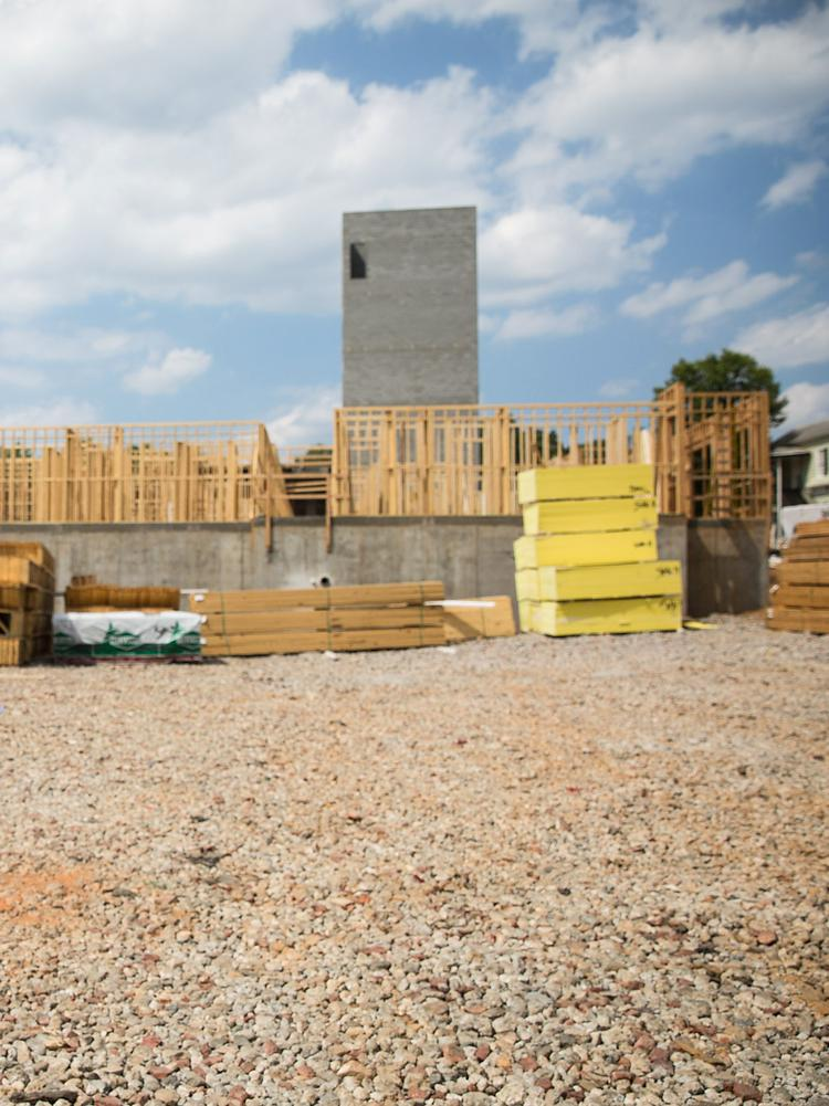 Future student housing project at the Stanhope Center on Hillsborough Street, Raleigh.