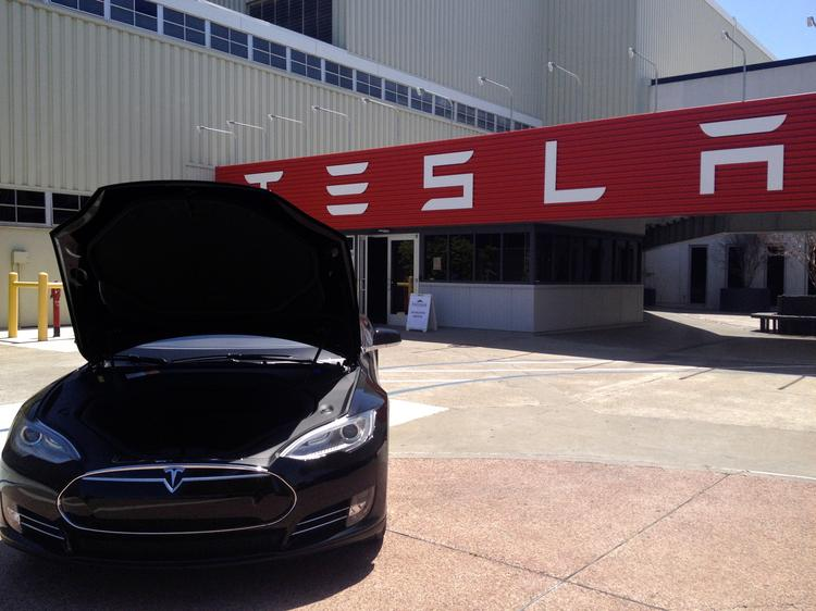 The city of Fremont held a legislative event Thursday at Tesla's local factory focusing on the city's long-term development goals.