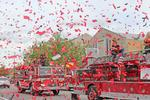 Pegasus Parade features local businesses, colorful floats and big names