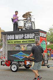The Doo Wop Shop featured several musicians.
